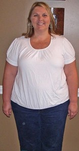 mary_before_weight loss and the morning fat melter program